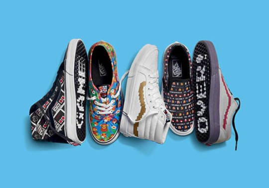 Vans And Nintendo To Release Collection Inspired By Super Mario Bros., Legend Of Zelda, And More