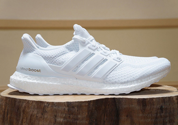 1db342e30d267 adidas Big Week Continues With A Restock Of Triple White Ultra Boosts on  sale