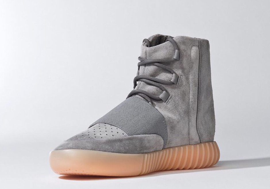 "faadb66555c24 adidas Yeezy 750 Boost ""Glow In The Dark"". Color  Light Grey Light Grey-Gum"