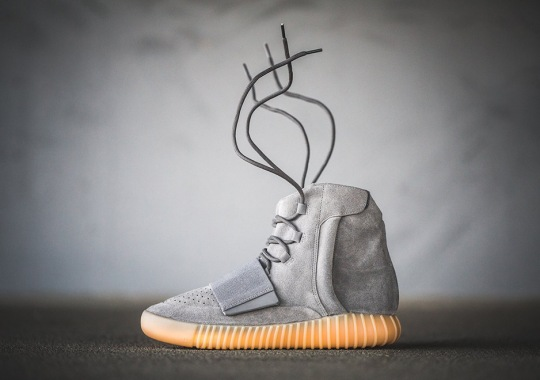 "The adidas Yeezy Boost 750 ""Light Grey"" Releases Today"