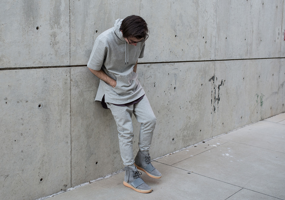 2db15f83788 ... coupon heres what the adidas yeezy boost 750 grey gum looks like on feet  sneakernews 78ce5