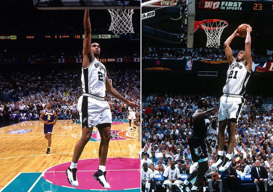 Tim Duncan Nike Sneaker History