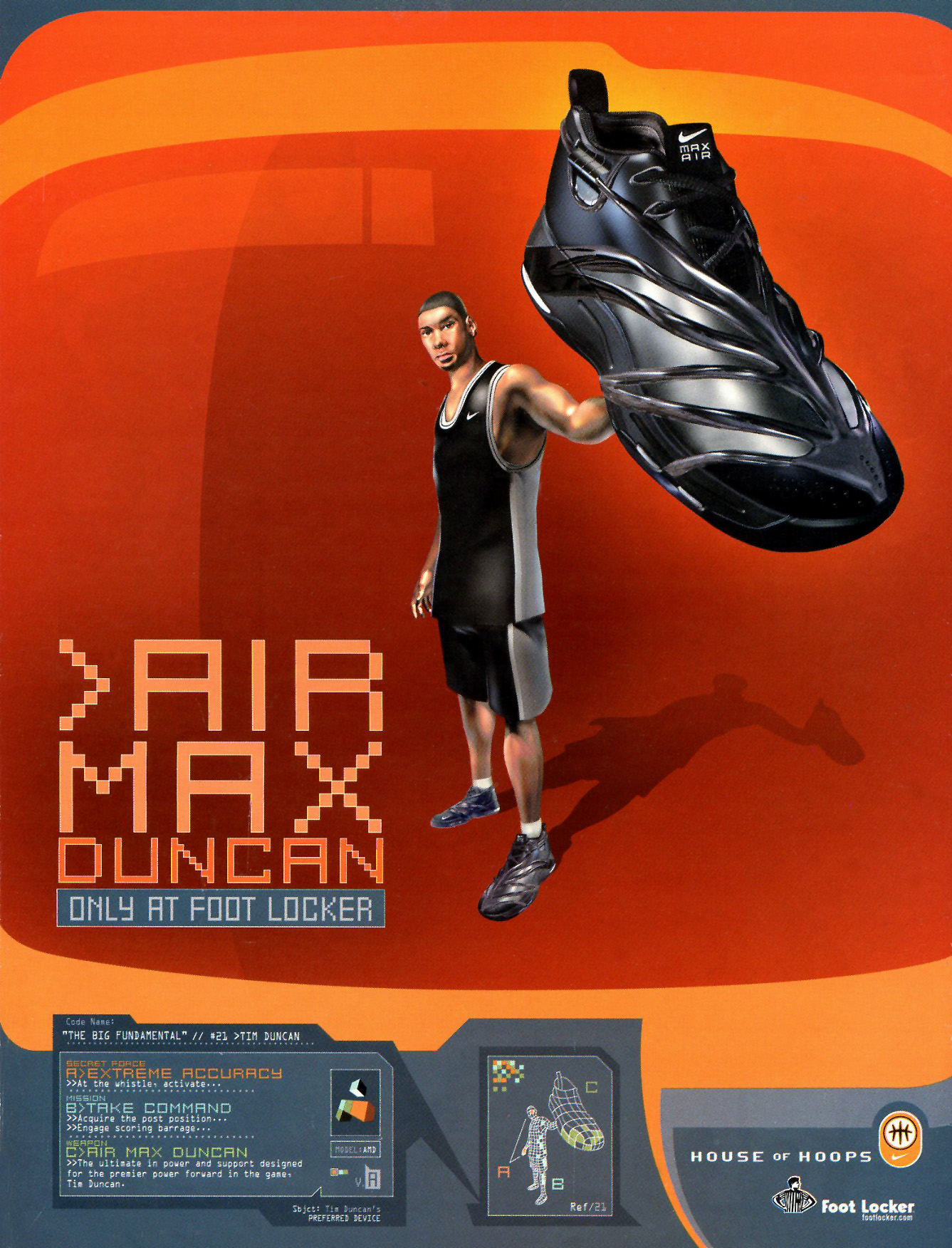 best sneakers a5b6a 4b25b ... one of the most obscure and forgotten Nike signature basketball shoes  ever. In 2003 he switched to adidas, the brand he would wear throughout the  rest ...