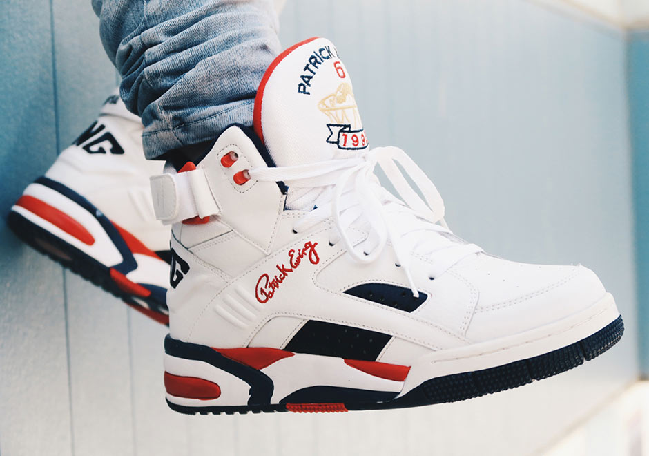 The First Retro of Patrick Ewing's Dream Team Shoe Is Available Now