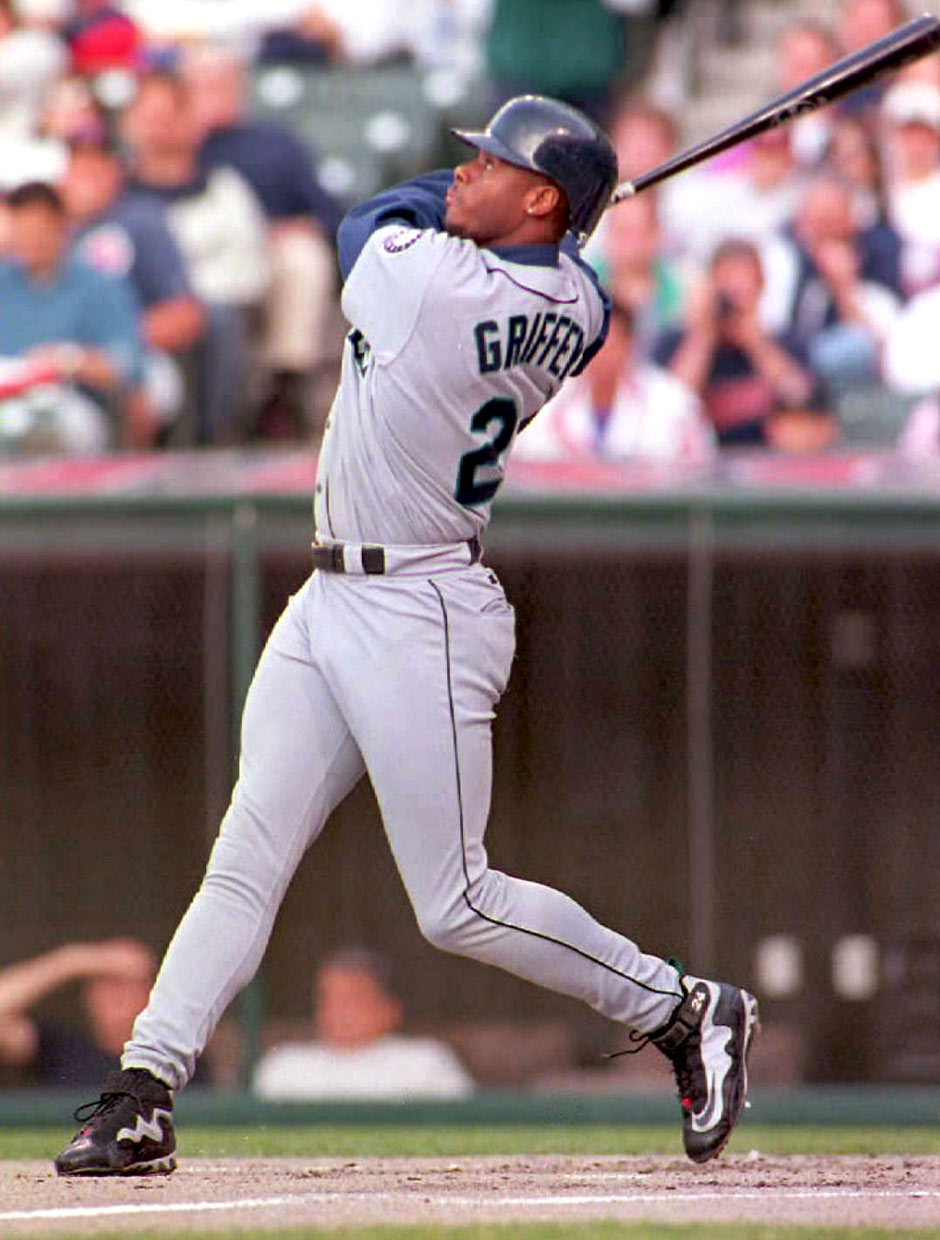 buy online b922f b9c36 We even tracked down a baseball card, Sports Illustrated cover, and  Wheaties box with sightings of the Griffey Max and Griffey Metal.