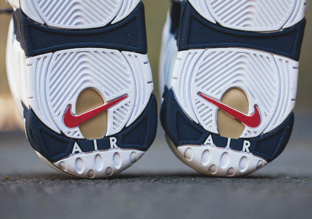 Nike Air More Uptempo Olympic Release Details  0f44da8dd841