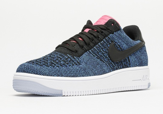 As Summer Continues, More Nike Air Force 1 Flyknit Colorways Appear