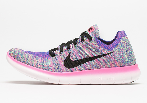 "2a2c5eee3e59 Nike s Latest Flyknit Running Shoe Unveils A New ""Multi-Color"""