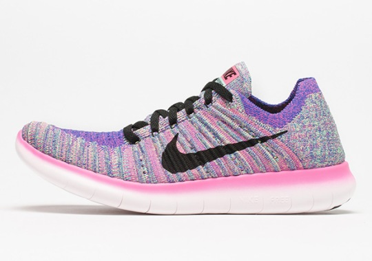 """Nike's Latest Flyknit Running Shoe Unveils A New """"Multi-Color"""""""