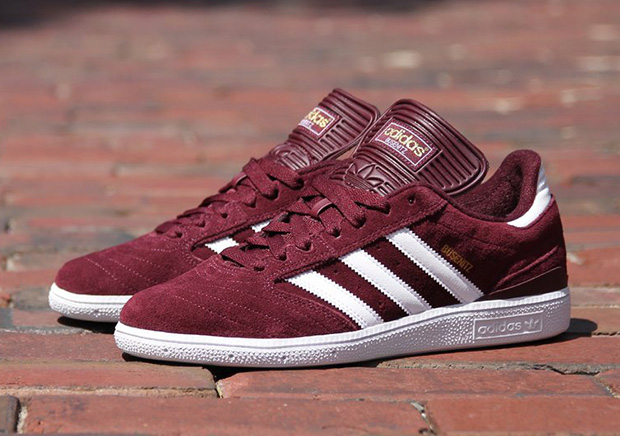 save off 011d1 6bd7f adidas Busenitz Pro Light Maroon G24510   SneakerNews.com