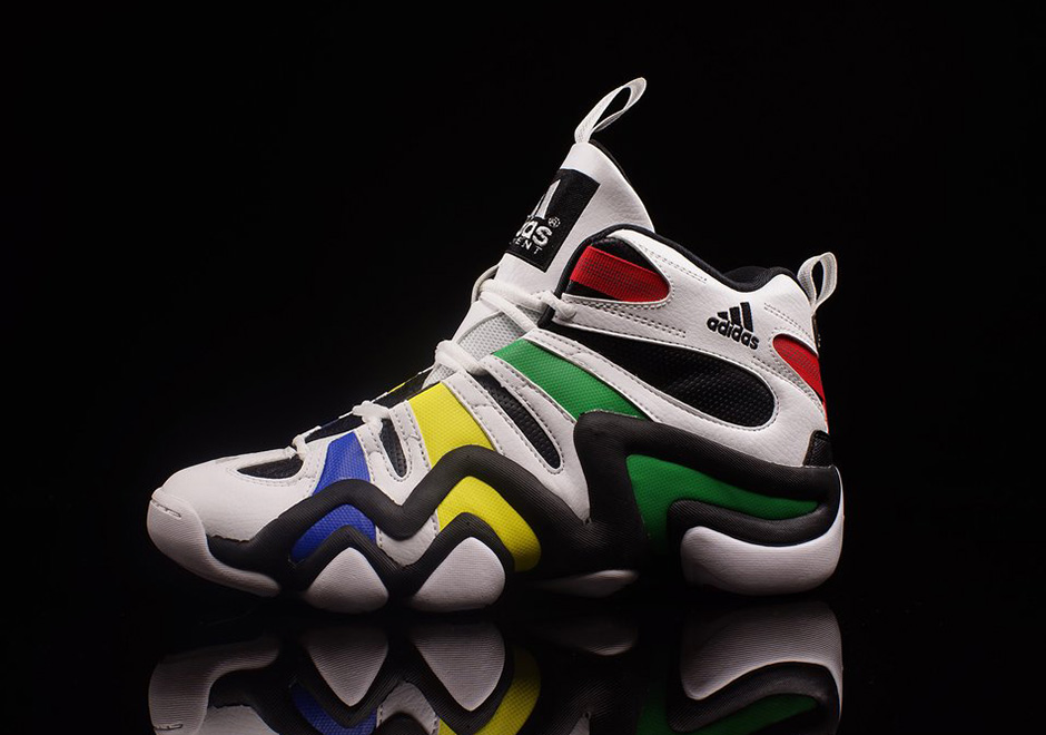 "b0325468f4c4d3 adidas Brings Back A Classic Kobe Shoe In ""Olympic Rings"" Theme"