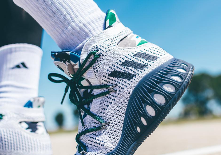 detailed look 883c5 d8a0c Andrew Wiggins adidas Crazy Explosive  SneakerNews.com