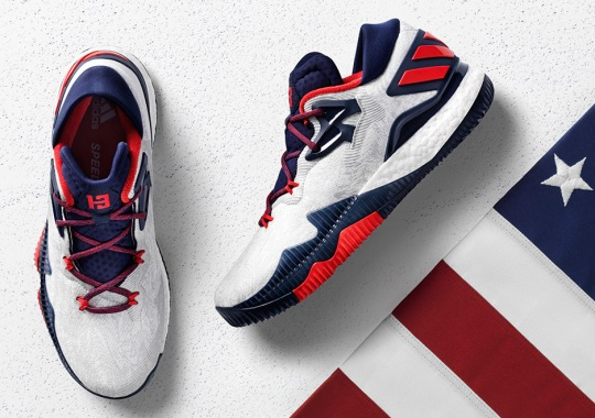 adidas To Release A Pure American Take On The CrazyLight Boost 2016