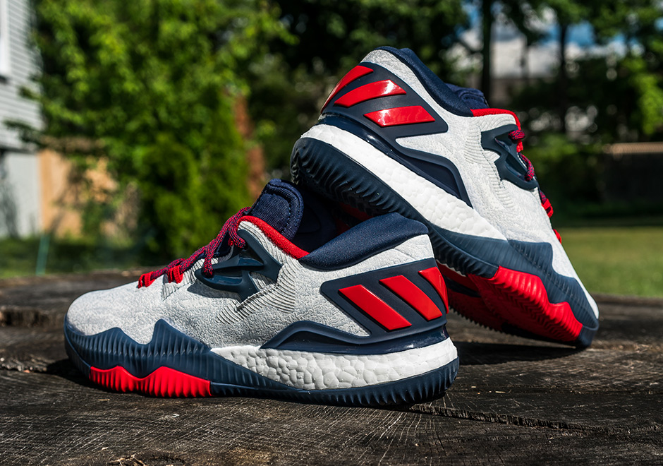 41061317b552 James Harden s USA-Themed adidas Crazylight Boost 2016 Drops Later This Week