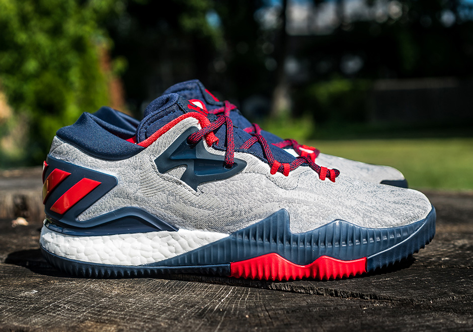 "buy popular bf608 b9503 adidas Crazylight Boost 2016 Low ""James Harden USA"" PE"