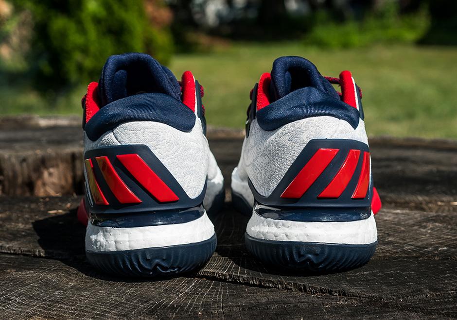 wholesale dealer 601a0 b0efd adidas Crazylight Boost 2016 James Harden USA  SneakerNews.c