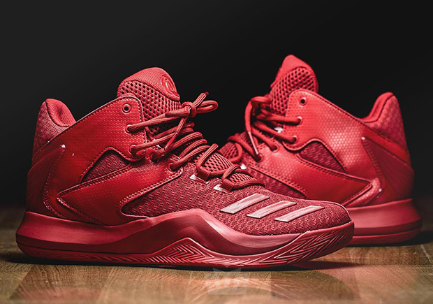 wholesale dealer c402d 95d9c adidas D Rose 773 V Red October  SneakerNews.com