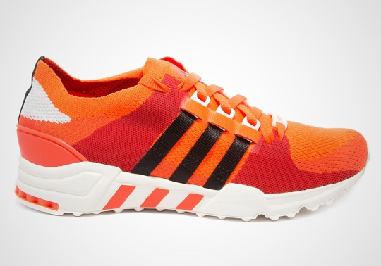 adidas Brings Bright Orange Primeknit To The EQT Support