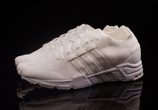 "adidas EQT Support Primeknit ""Triple White"""