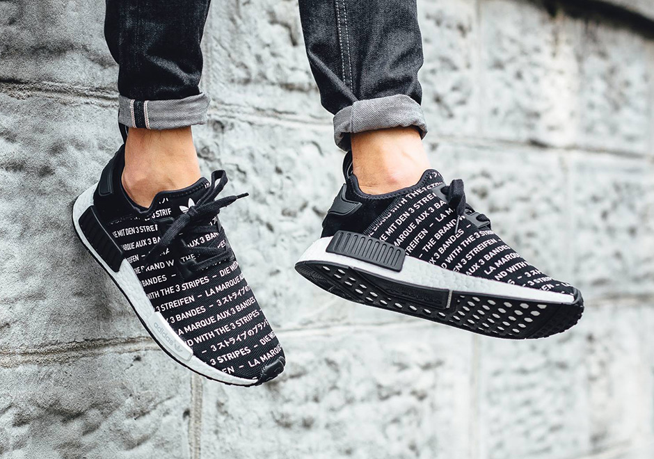 adidas nmd with stripes