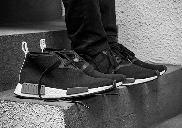 1ef26ab5c54 Cheap Adidas Originals NMD R1 PK Pitch Black Friends and Family ...