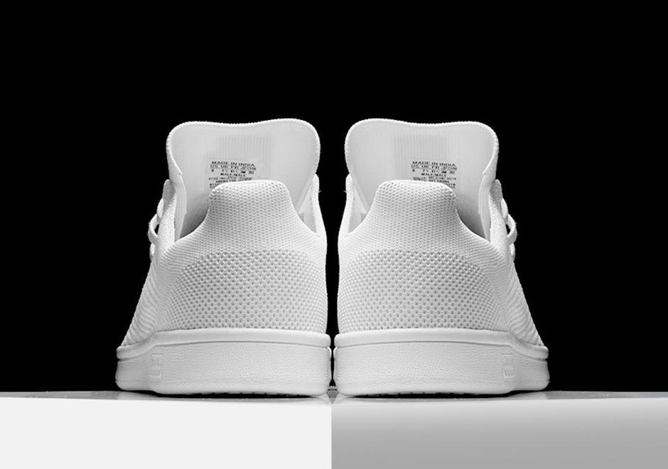 check out 516d4 ae202 adidas Stan Smith Primeknit Triple White | SneakerNews.com