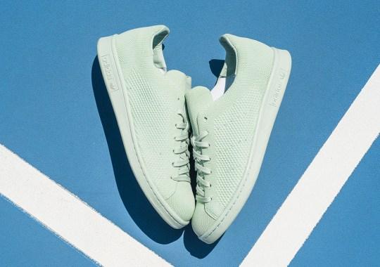 """adidas Drops The Stan Smith Primeknit In """"Vapor Green"""""""