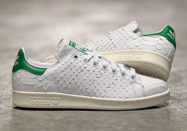 adidas stan smith zwart snake