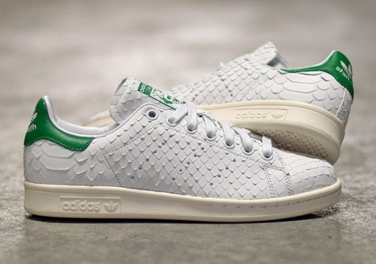 The adidas Stan Smith Is Releasing In Premium Python Snake Skin