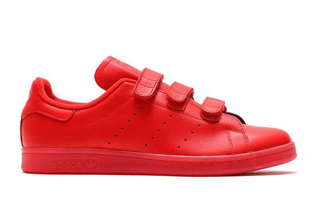 adidas Stan Smith Velcro Red S80043  d82450421e0e