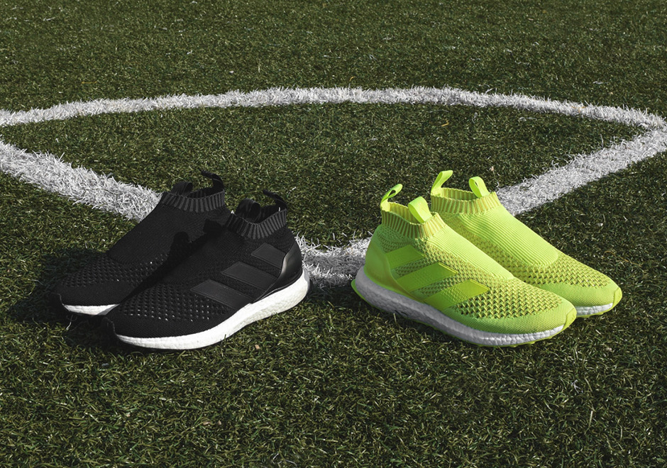 44263bc4c adidas Pairs Ultra Boost With The A Primeknit Version Of The Ace 16+ -  SneakerNews.com