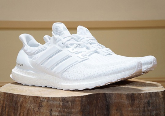 Triple White adidas Ultra Boosts and More Just Restocked