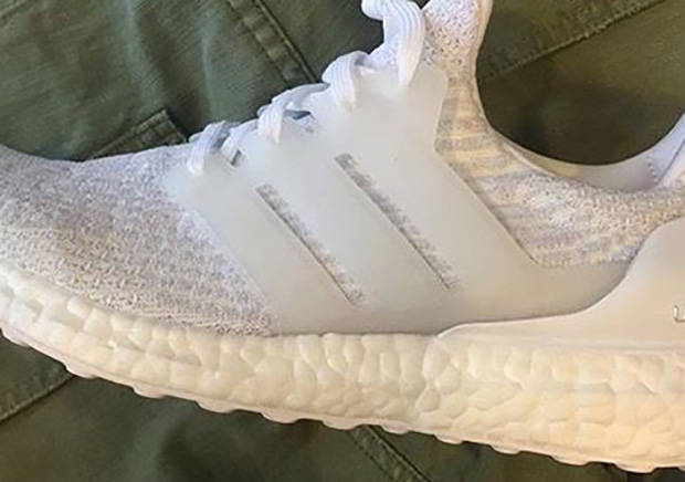 New adidas Ultra Boost Triple White For 2017