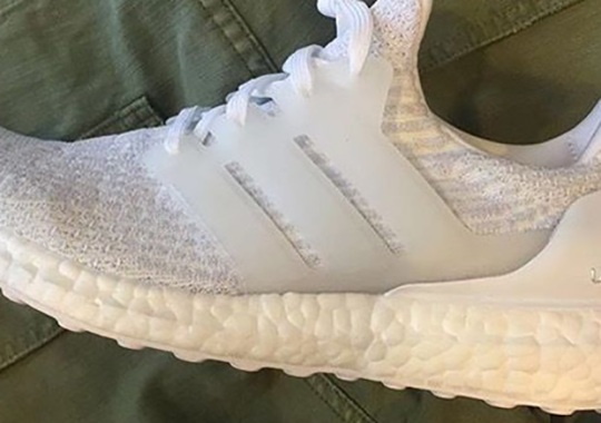 "There's Another ""Triple White"" adidas Ultra Boost Releasing In 2017"