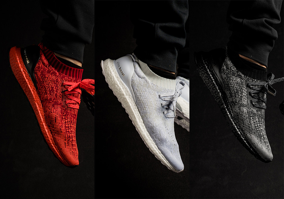 NEW 2017 UA Ultra Boost Uncaged Shoes Crystal BY3057 Deep Blue