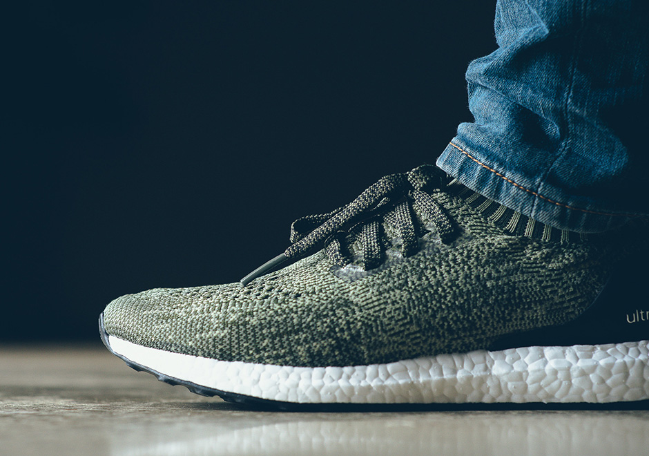 f73cbc3ad7522 adidas Ultra Boost Uncaged Olive Green
