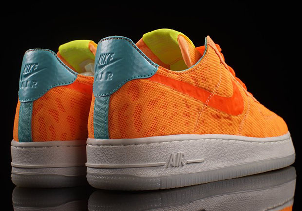 Neon Nike Air 1 Orange Force MGUzqSVp