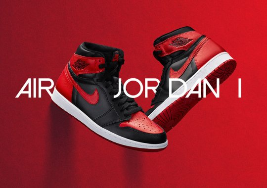 "Official Images of the Air Jordan 1 High ""Banned"""