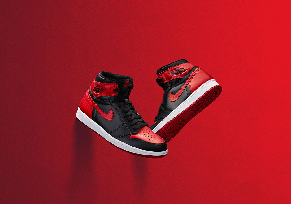 Air Jordan 1 High Banned Official Images