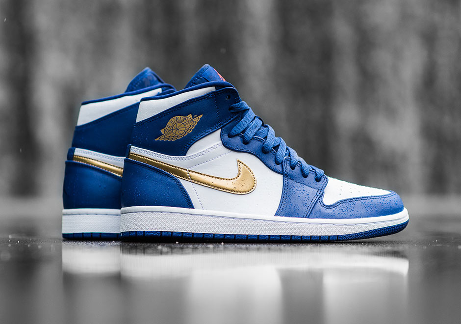 5e1eadbcdfda Jordan Brand makes sure that the Air Jordan 1 isn t left out of the  upcoming celebration for the summer Olympics with this patriotic edition of  the iconic ...