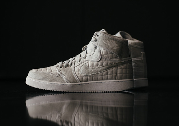 reputable site 4d5e5 584f0 Air Jordan 1 KO Quilted Releases This Weekend