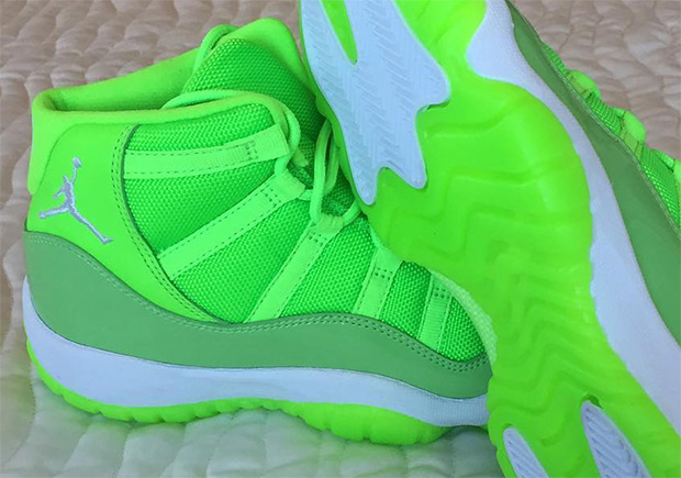 Neon Colored Jordan Shoes