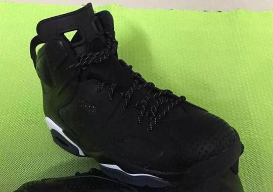 "A First Look At The Air Jordan 6 ""Black Cat"""