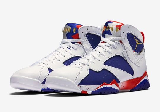 "Official Images Of The Air Jordan 7 ""Olympic Alternate"""