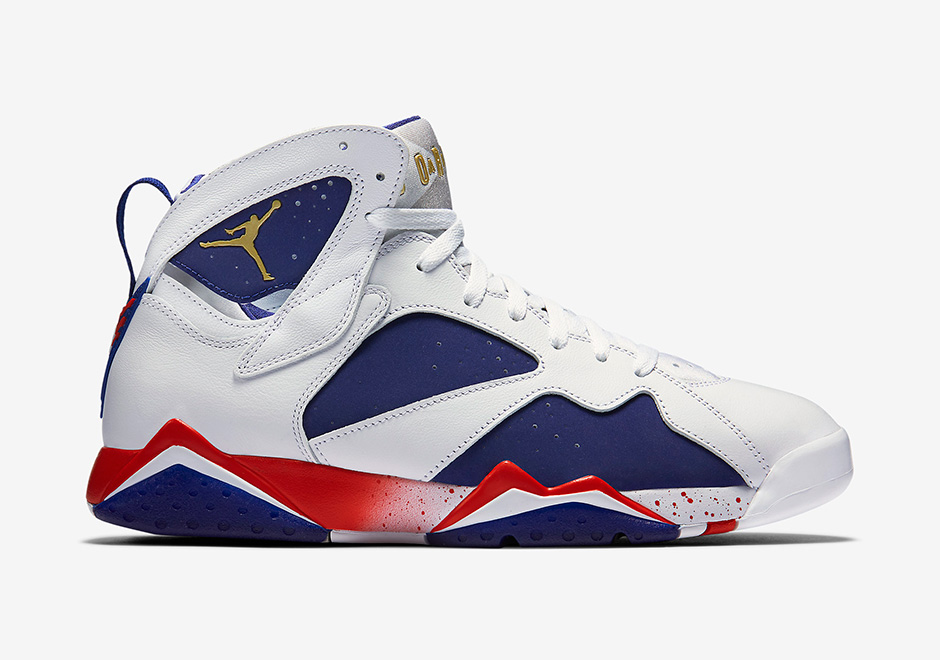 734e1590734b55 Air Jordan 7 Olympic Alternate Official Images and Release Info ...