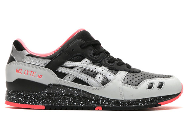 release date: 1e1a3 740d1 ASICS GEl-Lyte III Black/Light Grey Neymar | SneakerNews.com