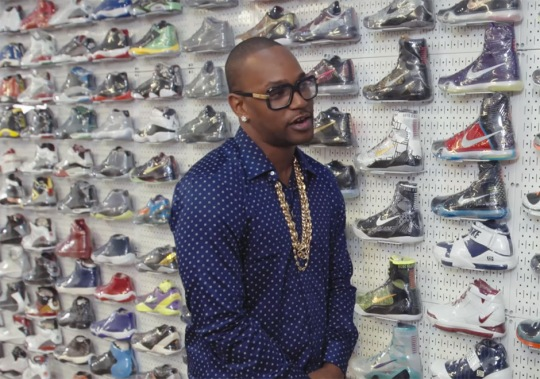 Cam'Ron Says He Plays Basketball In High-Top Prada Sneakers