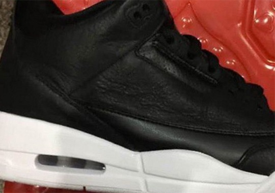 """First Look At The Air Jordan 3 """"Cyber Monday"""""""