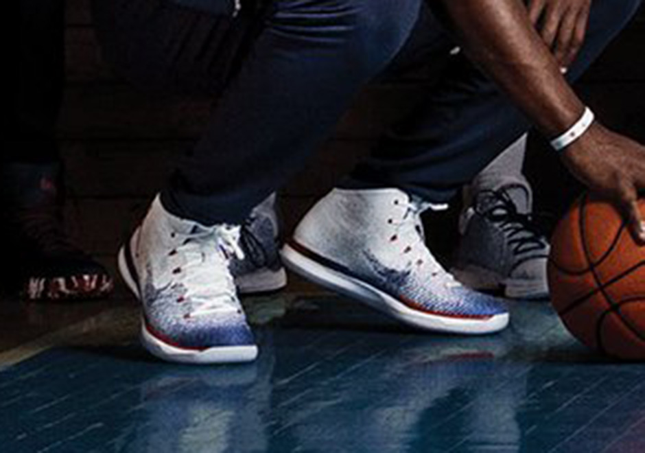 Carmelo Anthony And Jimmy Butler Debut Air Jordan 31 In Team USA Photo