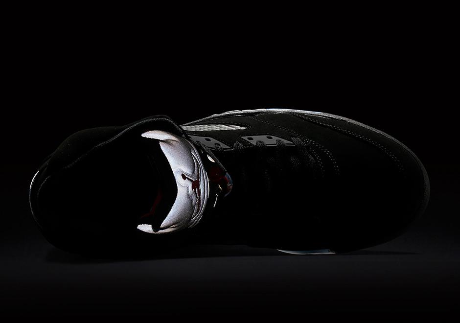 Immagini Di Air Jordan 5 Nero / Scarpe Retrò Metallici JgqUFuK2K